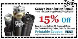 Garage Door Spring Repair Orange County CA