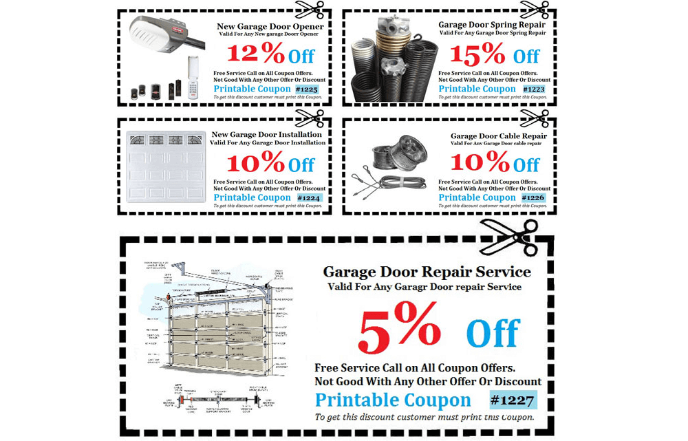 Garage Door Repair Orange County CA Coupons